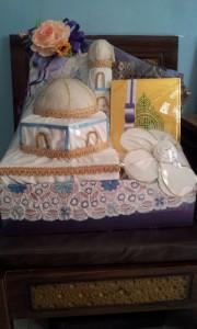 Box seserahan model masjid